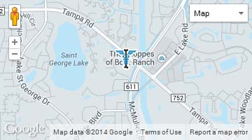 Palm Harbor Office Map